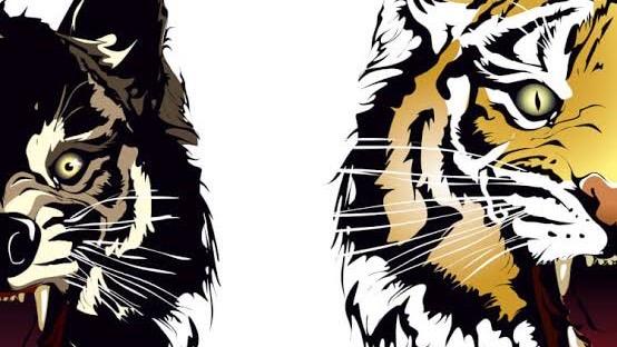 珍しい動物を含む四字熟語②:前虎後狼(ぜんここうろう)