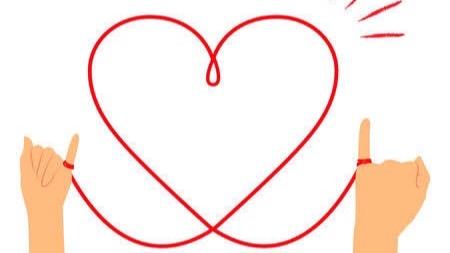 「愛」を含む四字熟語⑤:相思相愛(そうしそうあい)